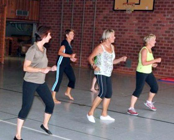 Frauen-Gym. Fit for Fun