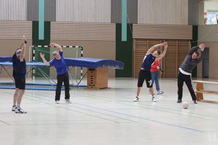 Männer-Gymnastik