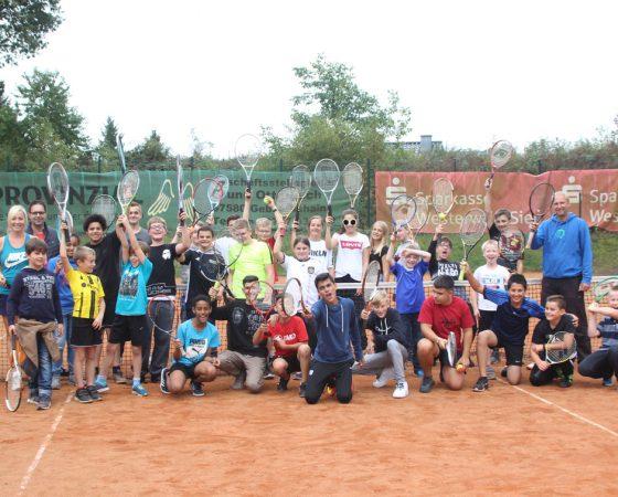 Tennis-Workshop ein voller Erfolg – SGW arbeitet mit Tennisschule ONE zusammen