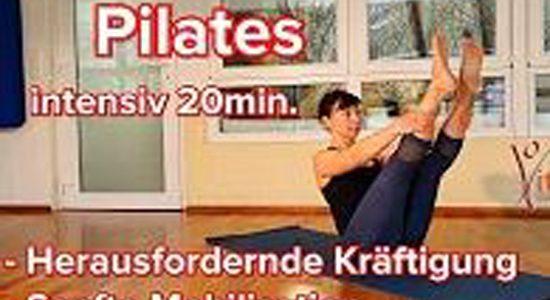 Pilates-Übungen