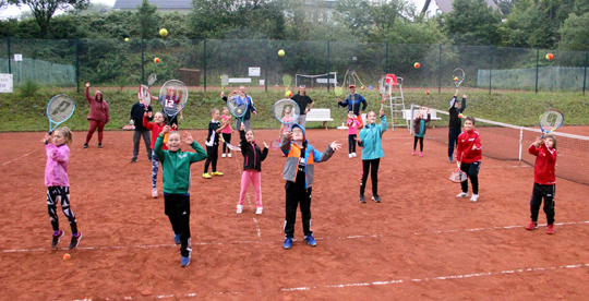 Tolles Tennis-Camp in Gebhardshain