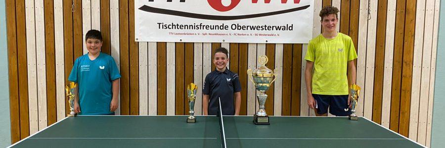 Phil Schweitzer neuer TT-Vereinsmeister