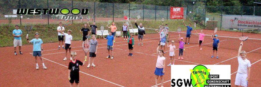 Kids hatten auch beim zweiten Tennis-Camp viel Spaß