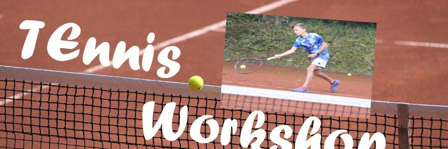 Kostenloser Tennis-Workshop für Kids am Samstag, 5. September
