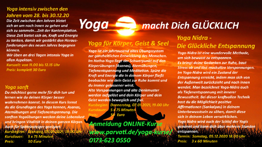 Online Yoga-Kurse