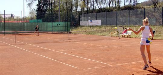 Tolles Damen-Tennis beim DTB-Turnier