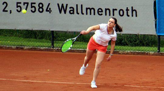 Tennis: Damen mit klarem 8:1-Derbysieg in Rosenheim