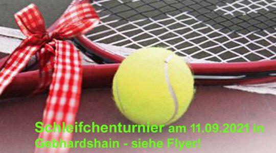 Tennis: Schleifchenturnier am 11.09.21 garantiert viel Spaß